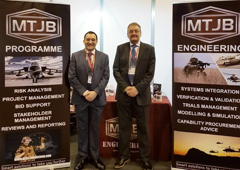 MTJB Are Exhibiting At DPRTE 18, Cardiff